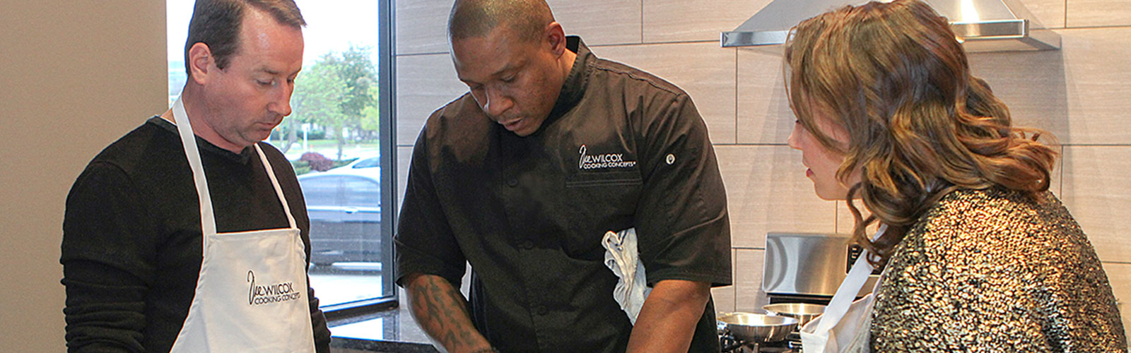 TRE Cooking Concepts - About Tre Wilcox
