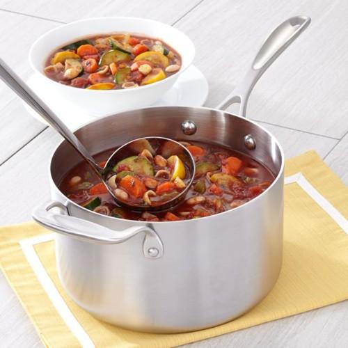 4-quart Premium Stainless Steel Saucepan